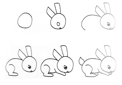 > 信息详细   教宝宝画画,留着用 小兔 小鸟 小鹿 松鼠 小毛驴 小老鼠